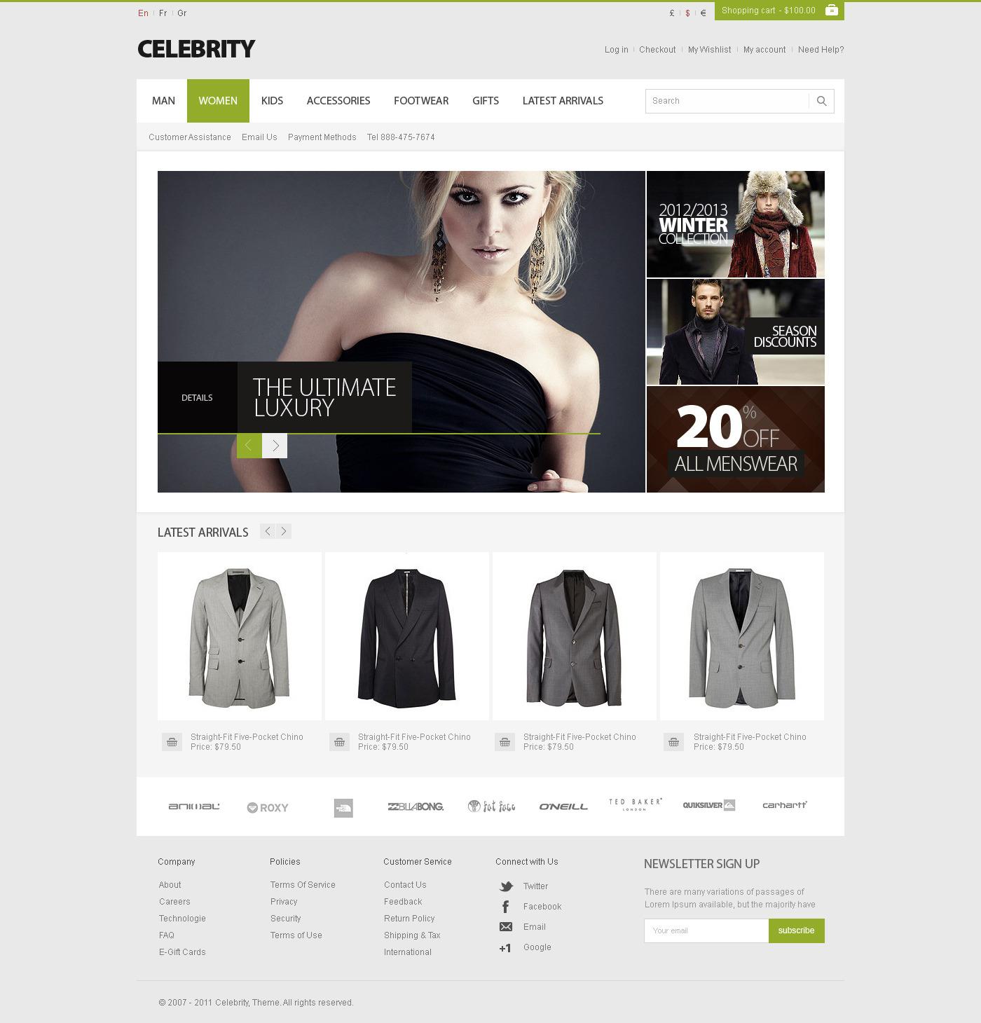 Entrepreneurs Celebrity WrodPress Theme - scriptmask.net